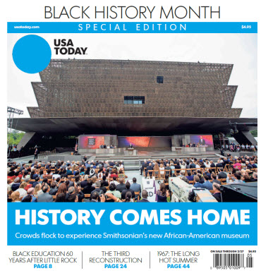 USA Today - 2017 Black History Month