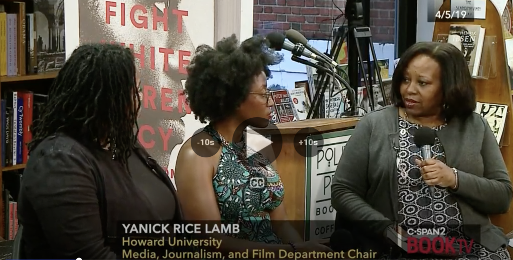 On C-Span's Book TV with Akiba Solomon and Kenrya Rankin, co-authors of